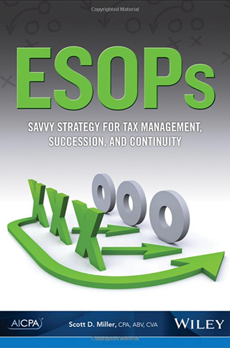 ESOPs book cover image.